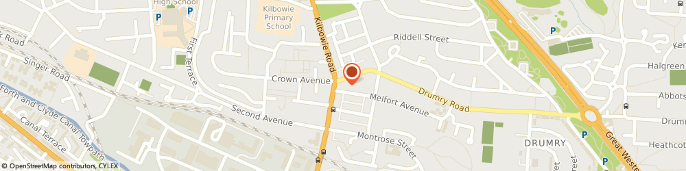 Route/map/directions to Church Of Scotland - Clydebank Kilbowie St Andrew's, G81 2HX Clydebank, Kilbowie Road