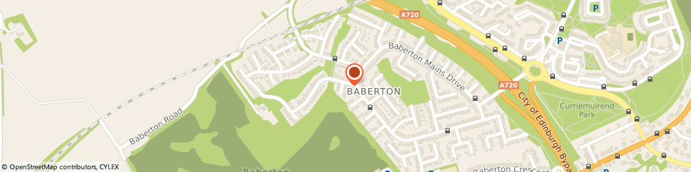 Route/map/directions to Baberton Book Keeping Services Limited, EH14 3DU Edinburgh, 17 BABERTON MAINS WOOD