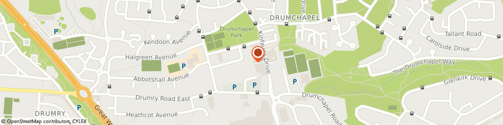 Route/map/directions to LloydsPharmacy, G15 8NB Glasgow, 24 Dunkenny Square