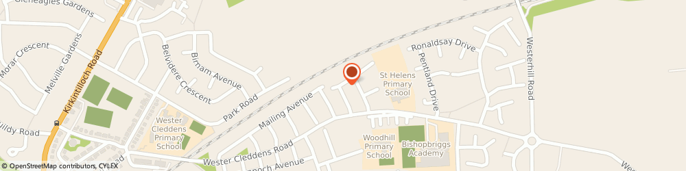 Route/map/directions to Ross Storage Equipment Co, G64 1QF Bishopbriggs, 4 Ruskin Square