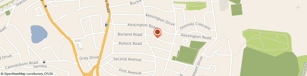 Route/map/directions to Tradeline Windows & Doors Ltd, G61 2ND Bearsden, 38 Borland Road