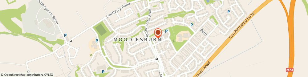 Route/map/directions to Moodiesburn Cars, G69 0EF Glasgow, 8 Larchfield Rd