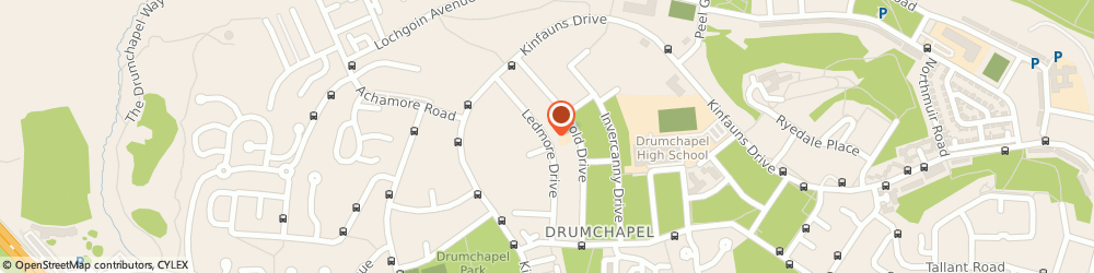 Route/map/directions to Langfaulds Primary School, G15 7AQ Glasgow, 56 Ledmore Drive