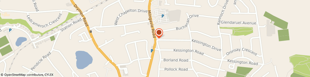 Route/map/directions to Kidstons Glasgow, G61 2DW Bearsden, 43 Milngavie Rd