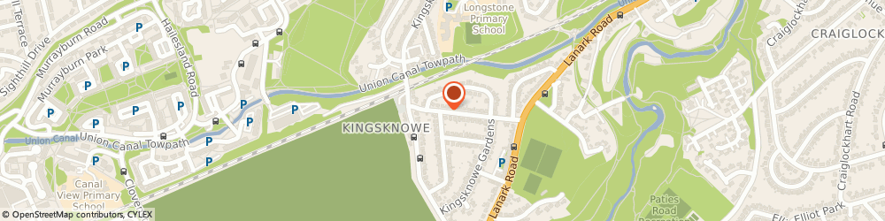 Route/map/directions to Colin Chalmers Motor Engineer, EH14 2JX Edinburgh, 52 KINGSKNOWE DRIVE