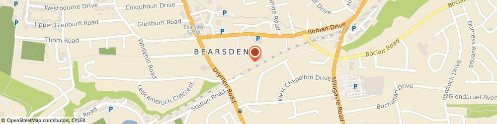 Route/map/directions to Bearsden Lawn Tennis Club, G61 2RT Bearsden, 4 Jubilee Gardens