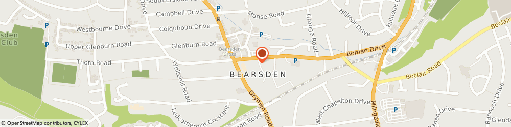 Route/map/directions to International & Domestic Law Practice, G61 2SW Bearsden, 2 Roman Road