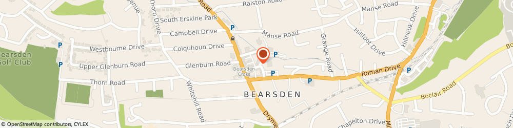 Route/map/directions to Paul Smith Menswear, G61 3SJ Bearsden, 21 New Kirk Road