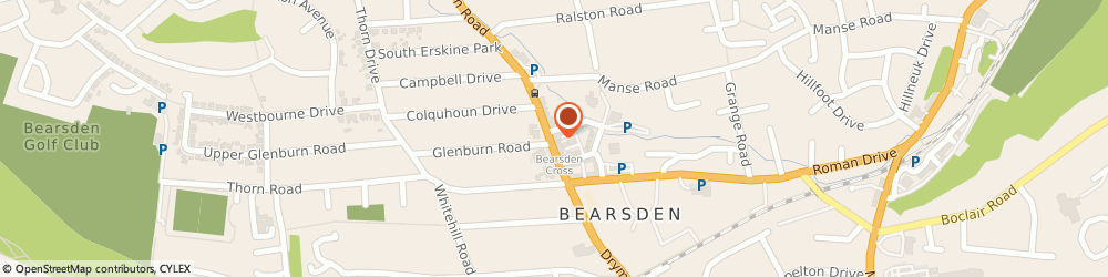 Route/map/directions to Stuart Hair Design, G61 3RB Bearsden, 136 Drymen Road