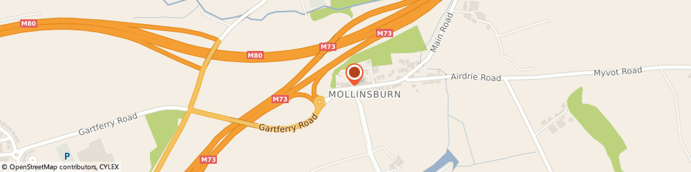 Route/map/directions to Mollinsburn Quality Fireplaces, G67 4HN Glasgow, 7 Cumbernauld Road, Mollinsburn/Cumbernauld