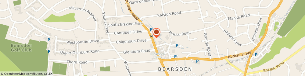 Route/map/directions to Drs Ashley A, Levy r, Ritchie b, G61 3RD Bearsden, 160 Drymen Road