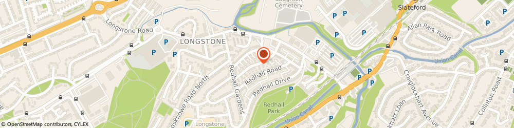 Route/map/directions to Be A Good Driver, EH14 2HP Edinburgh, 1 Redhall Ave