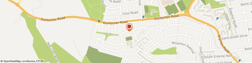 Route/map/directions to East Dunbartonshire Council, G61 4DL Bearsden, ROSSLYN RD