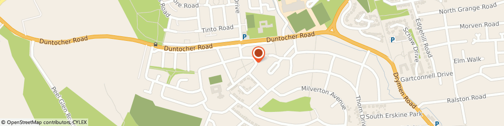 Route/map/directions to UPS Solutions Logistics, G61 4HU Glasgow, Kenilworth Crescent, 8
