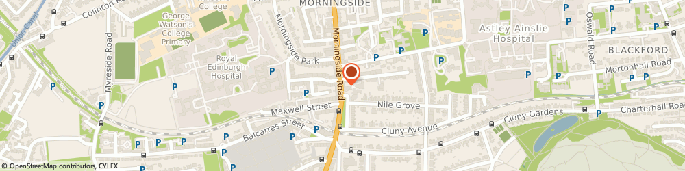 Route/map/directions to West End Veterinary Partnership, EH10 4RD Edinburgh, 263 Morningside Rd