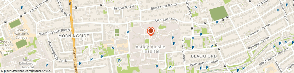 Route/map/directions to Lothian Primary Care Nhs Trust, EH9 2HL Edinburgh, 133, Grange Loan