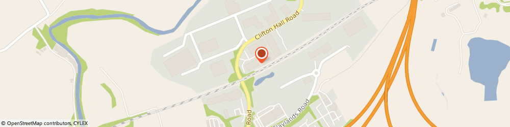 Route/map/directions to Howdens  - Newbridge, EH28 8TP Edinburgh, Clifton Trading Estate, Clifton Hall Road