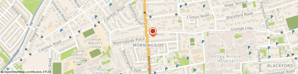 Route/map/directions to Roundsquare Coffee House, EH10 4AY Edinburgh, 132 Morningside Road