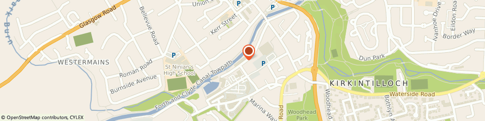 Route/map/directions to Dr Diane Meek, G66 1NH Glasgow, 17-19 Southbank Road