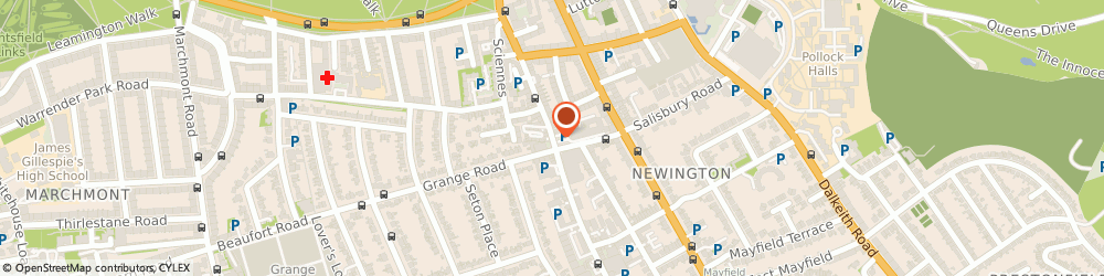 Route/map/directions to The Courtyard Antiques Theatrical Suppliers Ltd, EH9 1PU Edinburgh, 108A CAUSEWAYSIDE