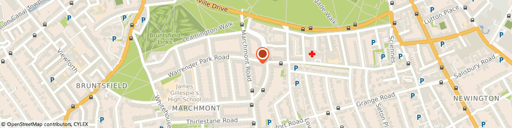 Route/map/directions to Scott Robertson, EH9 1HH Edinburgh, 48 WARRENDER PARK ROAD