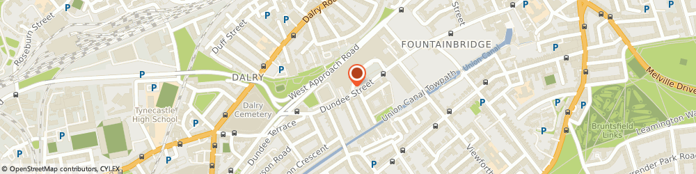 Route/map/directions to Flaming Grill Pubs - Mccowans Brewhouse (Pub), EH11 1AF Edinburgh, 134 Dundee Street