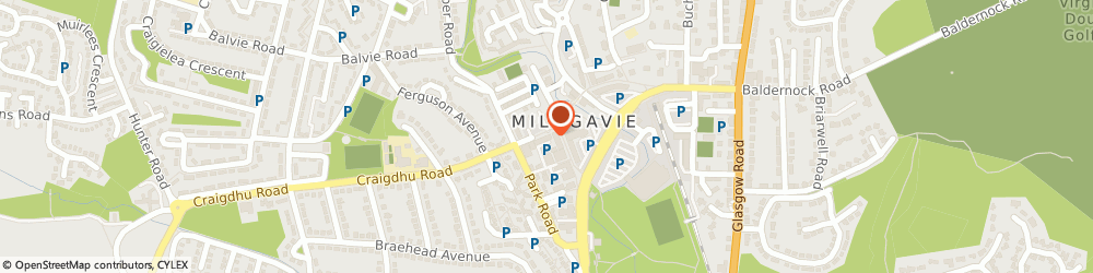 Route/map/directions to Ambassador Taxis, G62 6PE Milngavie, 29 Douglas St