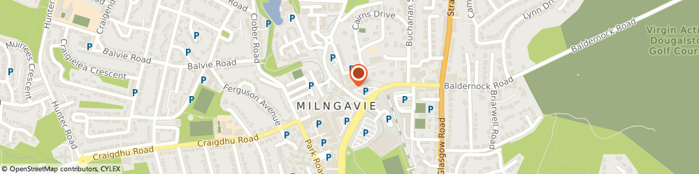 Route/map/directions to Bank of Scotland, G62 8AA Milngavie, 2 Station Road