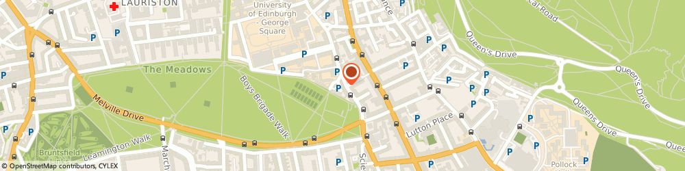 Route/map/directions to Black Lion, EH8 9NH Edinburgh, 90 Buccleuch St