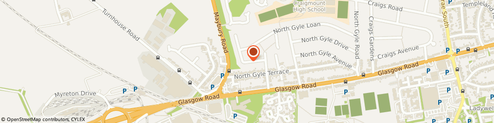 Route/map/directions to John Russell Driving Instructor, EH12 8JZ Edinburgh, 36 NORTH GYLE GROVE