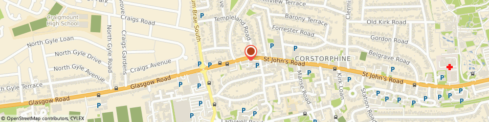 Route/map/directions to Accountaxwise Ltd T/A Accountax, EH12 7XD Edinburgh, 263b, St. Johns Rd