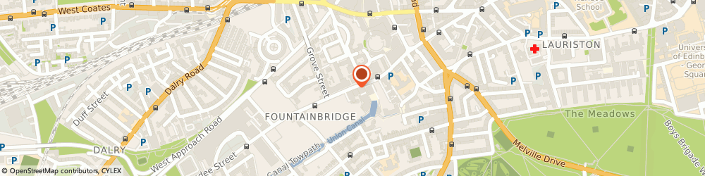 Route/map/directions to EDINBURGH VEINS LIMITED, EH3 9BA Edinburgh, 133 Edinburgh Quay Fountainbridge