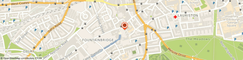 Route/map/directions to Consort Healthcare Investments Ltd, EH3 9AG Edinburgh, 133 FOUNTAINBRIDGE