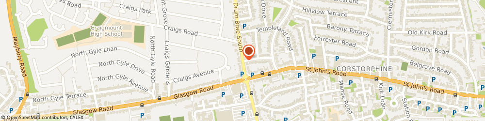 Route/map/directions to Drumbrae Veterinary Centre, EH12 8TE Edinburgh, 11 Drum Brae S