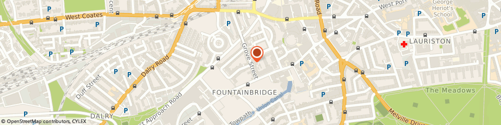 Route/map/directions to Siller & Donaldson, EH3 8AT Edinburgh, 58 GROVE STREET