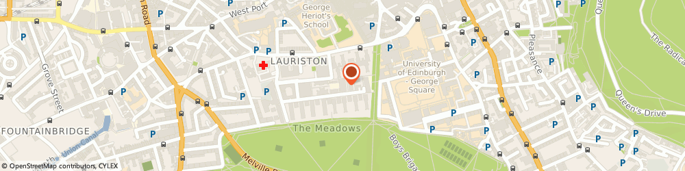 Route/map/directions to The Scotch Whisky Association, EH3 9GL Edinburgh, 2 Lister Square