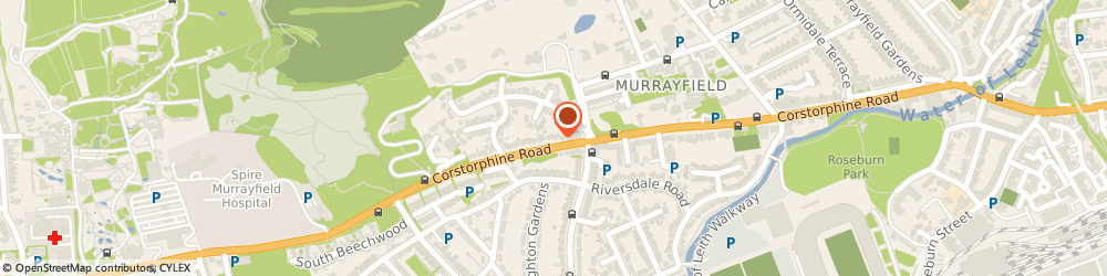 Route/map/directions to Carlin Cleaning, EH12 6JQ Edinburgh, 72 Corstorphine Rd