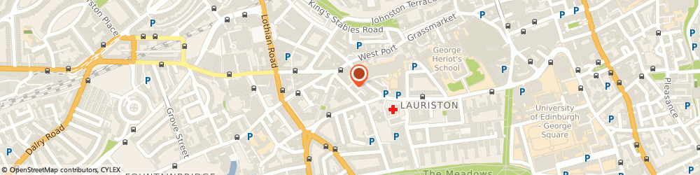 Route/map/directions to Capital Joinery Services, EH3 9DQ Edinburgh, 27 Lauriston St