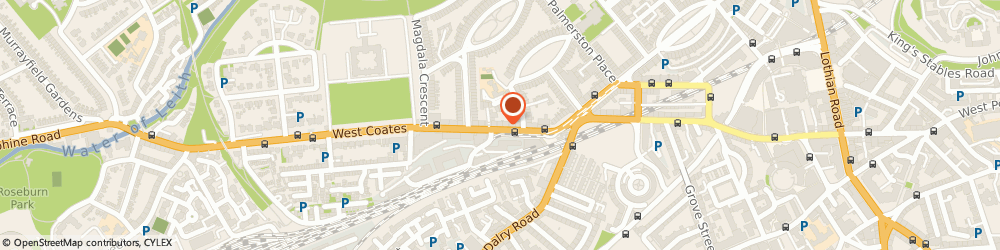 Route/map/directions to Pippin Gifts Ltd, EH12 5JZ Edinburgh, 30 Haymarket Terrace