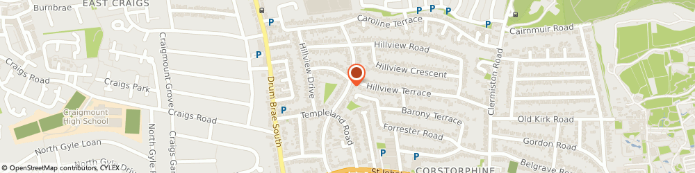 Route/map/directions to Crunchers Accountants, EH12 8RN Edinburgh, 50 Corstorphine Bank Drive