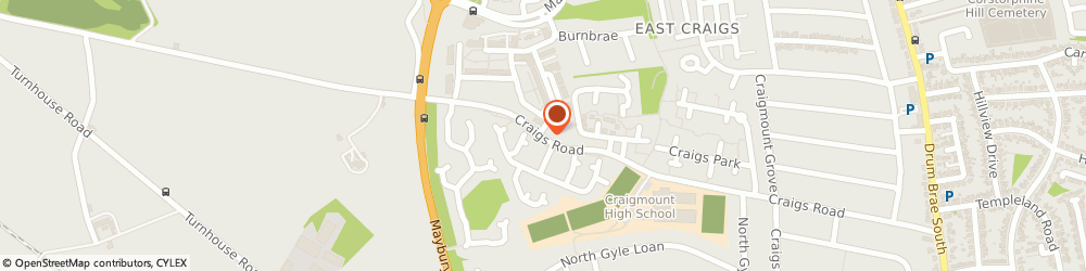Route/map/directions to Blossom Cleaning, EH12 8NS Edinburgh, 1/6 Moreland View