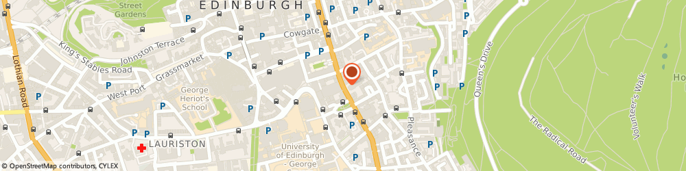 Route/map/directions to The Royal College Of Surgeons Of Edinburgh Library & Archive, EH8 9DW Edinburgh, Nicolson Street