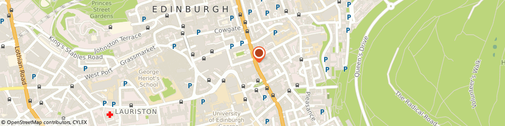 Route/map/directions to Word Power, EH8 9DB Edinburgh, 43-45 West Nicolson Street