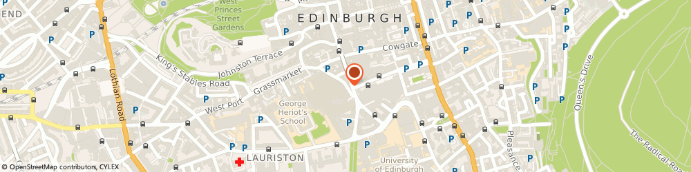 Route/map/directions to Another World, EH1 2QG Edinburgh, 25 CANDLEMAKER ROW