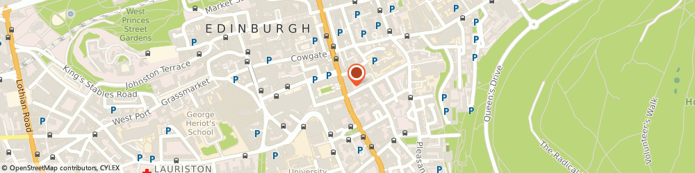 Route/map/directions to Blackwell's, EH1 1YS Edinburgh, 53-62 South Bridge