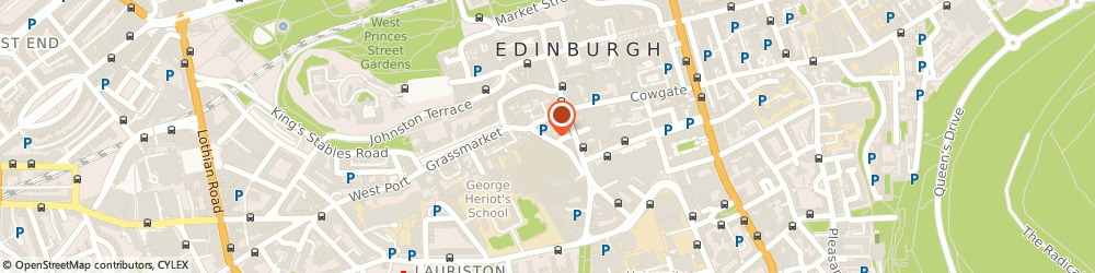 Route/map/directions to Analogue, EH1 2QB Edinburgh, 39 Candlemaker Row