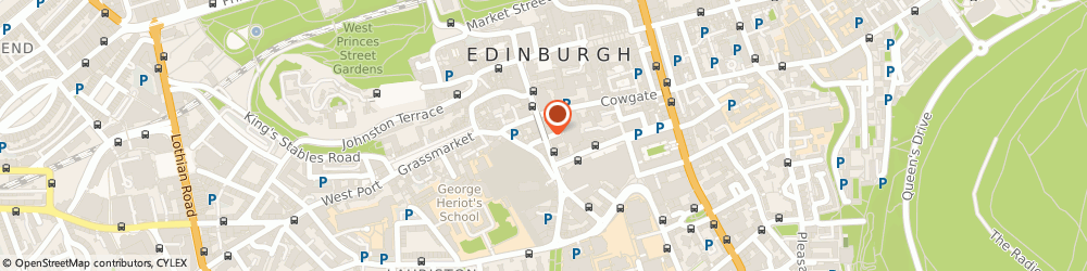 Route/map/directions to Scottish Business Information Service, EH1 1EW Edinburgh, George Iv Bridge