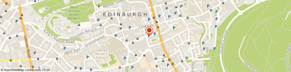 Route/map/directions to The Tower Restaurant, EH1 1JF Edinburgh, 45 Chambers St