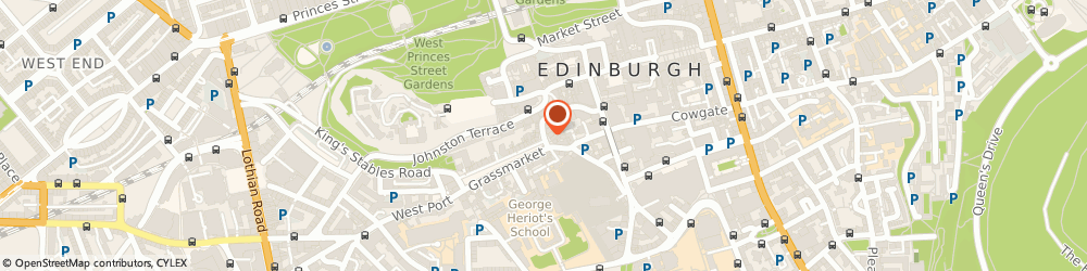 Route/map/directions to Bow-Well Antiques, EH1 2JP Edinburgh, 103, WEST BOW