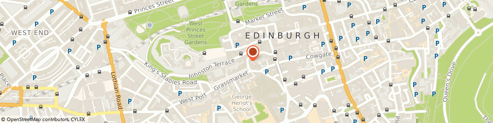 Route/map/directions to Bacchus Antiques, EH1 2JP Edinburgh, 95 WEST BOW